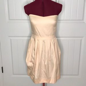 Cynthia Rowley Sweetheart Strapless Dress Sz 4